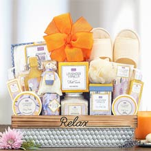 Spa Delight Gift Basket
