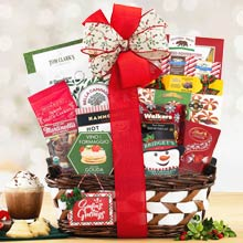 Festive Holiday Gift Basket