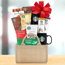 Starbucks Coffee and Tea Gift Basket
