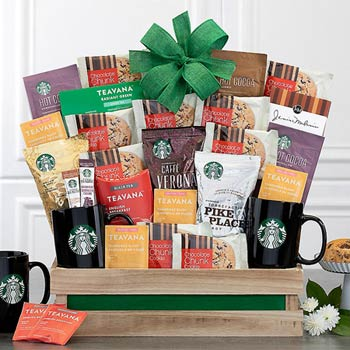 Starbucks® Gourmet Coffee Gift Basket
