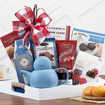 Tea Treasures Gift Basket