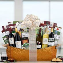 Elegant Corporate Wine Basket