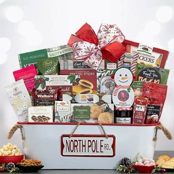 Holiday Spirit Gift Basket