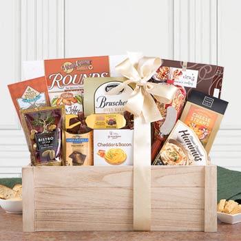 Gourmet Holiday Gift Basket