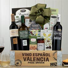 Spanish Trio Wine Gift Basket