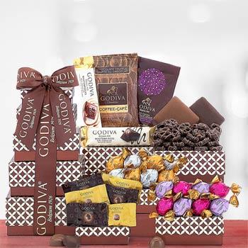 Godiva Holiday Chocolate Gift Tower