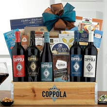 Coppola Business Gourmet Wine Basket