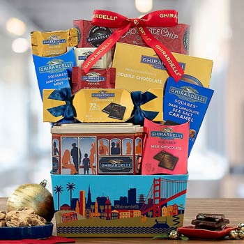 Ghirardelli Chocolate Basket