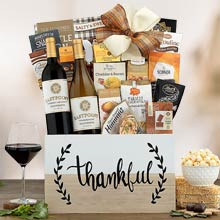 Thanksgiving Holiday Wine Basket