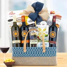 Italian Lovers Wine Gift Basket