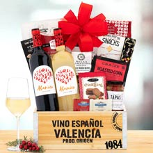 Spanish Wine Gift Basket