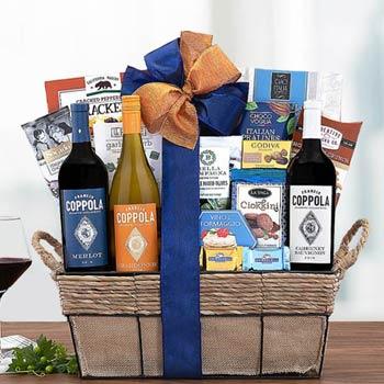 Coppola Fine Wine Gift Basket