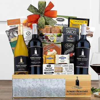 Regal Gourmet Wine Basket