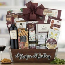 Corporate Gourmet Wine Basket