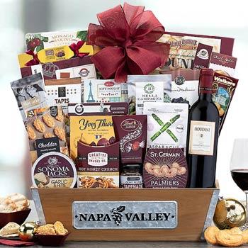 Corporate Gourmet Wine Basket