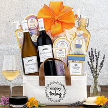 Spa and Wine Basket
