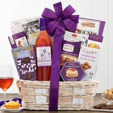 Moscato Wine Basket for Her