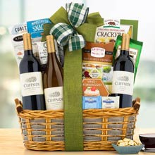 Corporate Elegance Gift Basket
