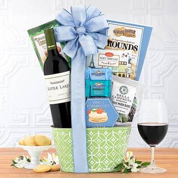 Spring Wine Gift Basket