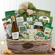With Gratitude Wine Basket