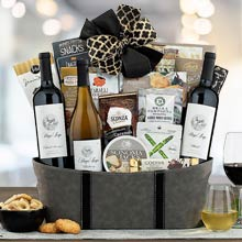 Stags Leap Wine Basket