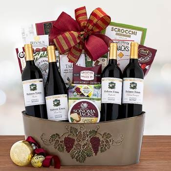 Steeplechase Wine Gift Basket