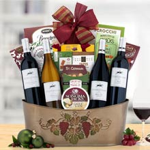 Steeplechase Wine Gift Basket