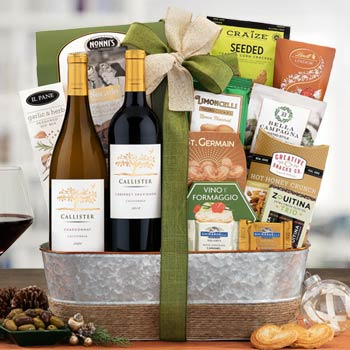 Cliffside Wine Gift Basket