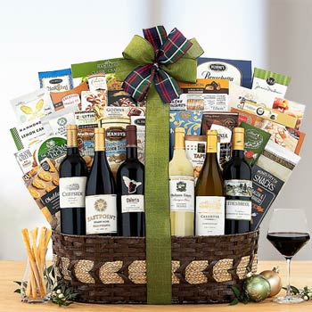 Corporate Wine Basket