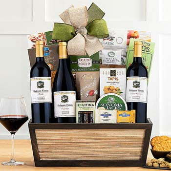 Wine Connoisseur Gift Basket