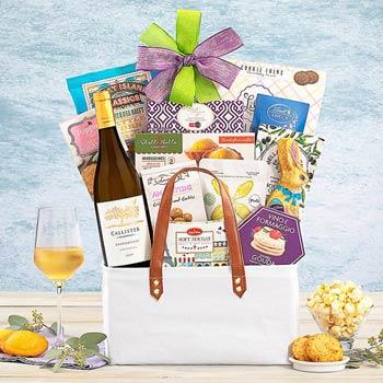 Easter Wine Gift Basket