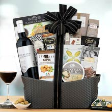 Holiday Celebration Wine Basket