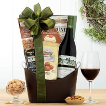Pinot Noir Holiday Wine Tote