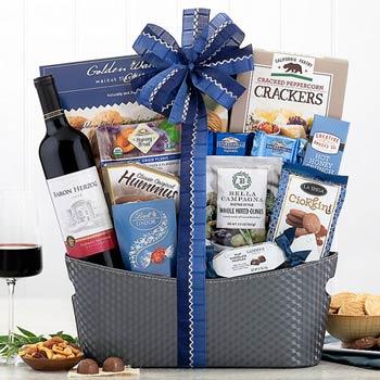 Kosher Gourmet Wine Basket