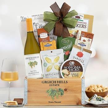 Grgich Hills Wine Basket