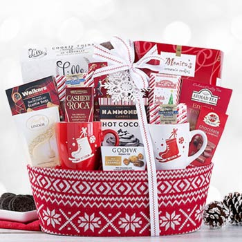 Winter Holiday Gift Basket