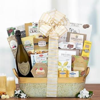 Dom Perignon Champagne Basket