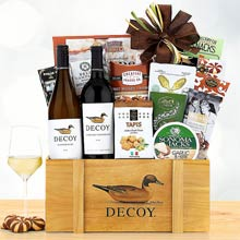 Corporate Thank You Wine Gift Basket