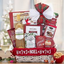 Season's Greetings Holiday Wine Basket