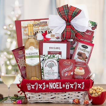 Season's Greetings Holiday Wine Basket