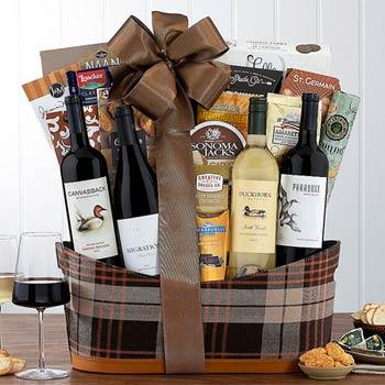 Gourmet Business Wine Basket