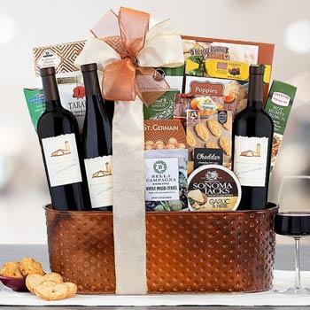 Regal Gourmet Wine Basket
