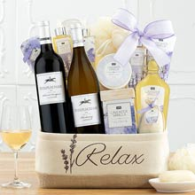 Relaxation Spa Wine Basket
