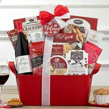 Cabernet Holiday Basket