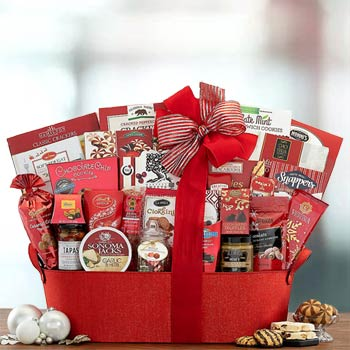 Corporate Thank You Basket
