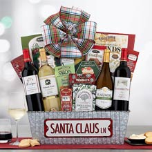 Office Christmas Party Gift Basket