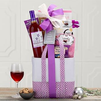 Moscato Wine Basket