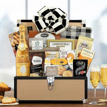 Cristal Celebration Wine Basket