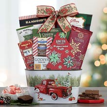 Christmas Joy Gift Basket