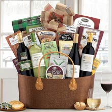 Gourmet Business Wine Basket